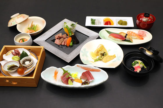 季節のおまかせ日本料理会席