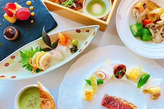 Chef's selection Course<br>~3月*季節の和洋折衷コース~