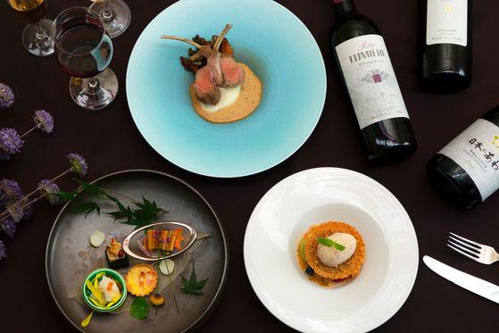 10/18(金)「ソムリエ厳選国産ワインと和の食材をつかった創作フレンチ」