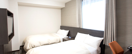 Standard Twin Room スタンダードツインルーム