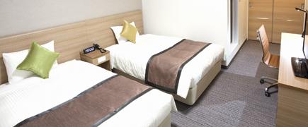 Double Room ダブルルーム